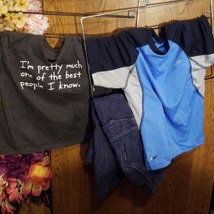 Other - 3pc Bundle 2 s/s shirts 1 pants